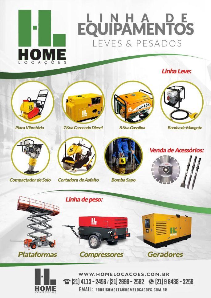 linha-de-equipamentos-leves-pesado-maquinas-fotos